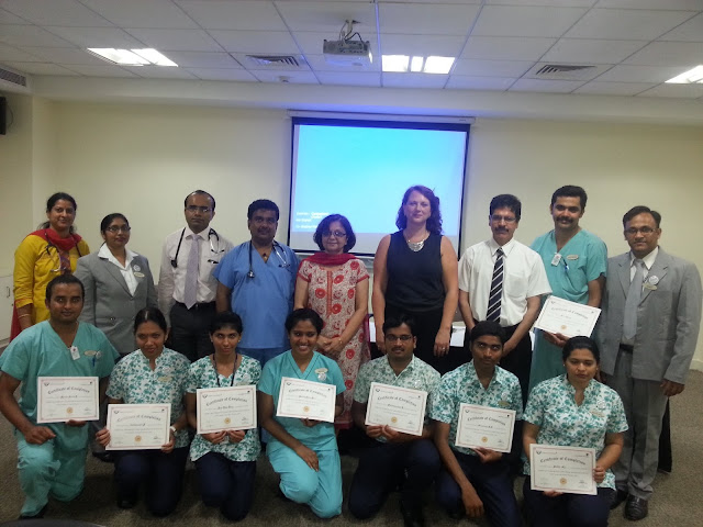 Columbia Asia Hospitals, Global Health Alliance and University of Leeds come together to train Cardiac Care Technicians