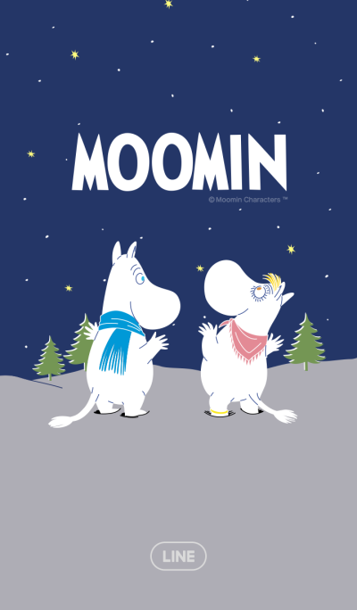 Moomin Winter Night
