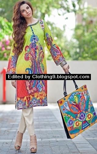 Zahra Ahmad Mid-Summer Tunic Kurtis Dresses 2015