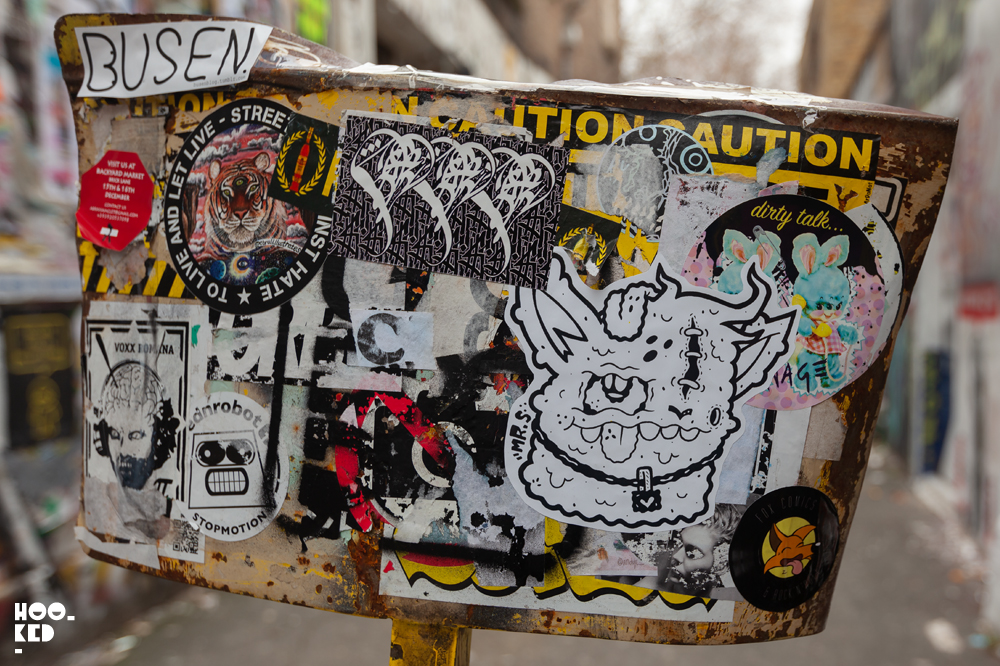 Stick it up: Shoreditch Street Art Stickers Edition 7