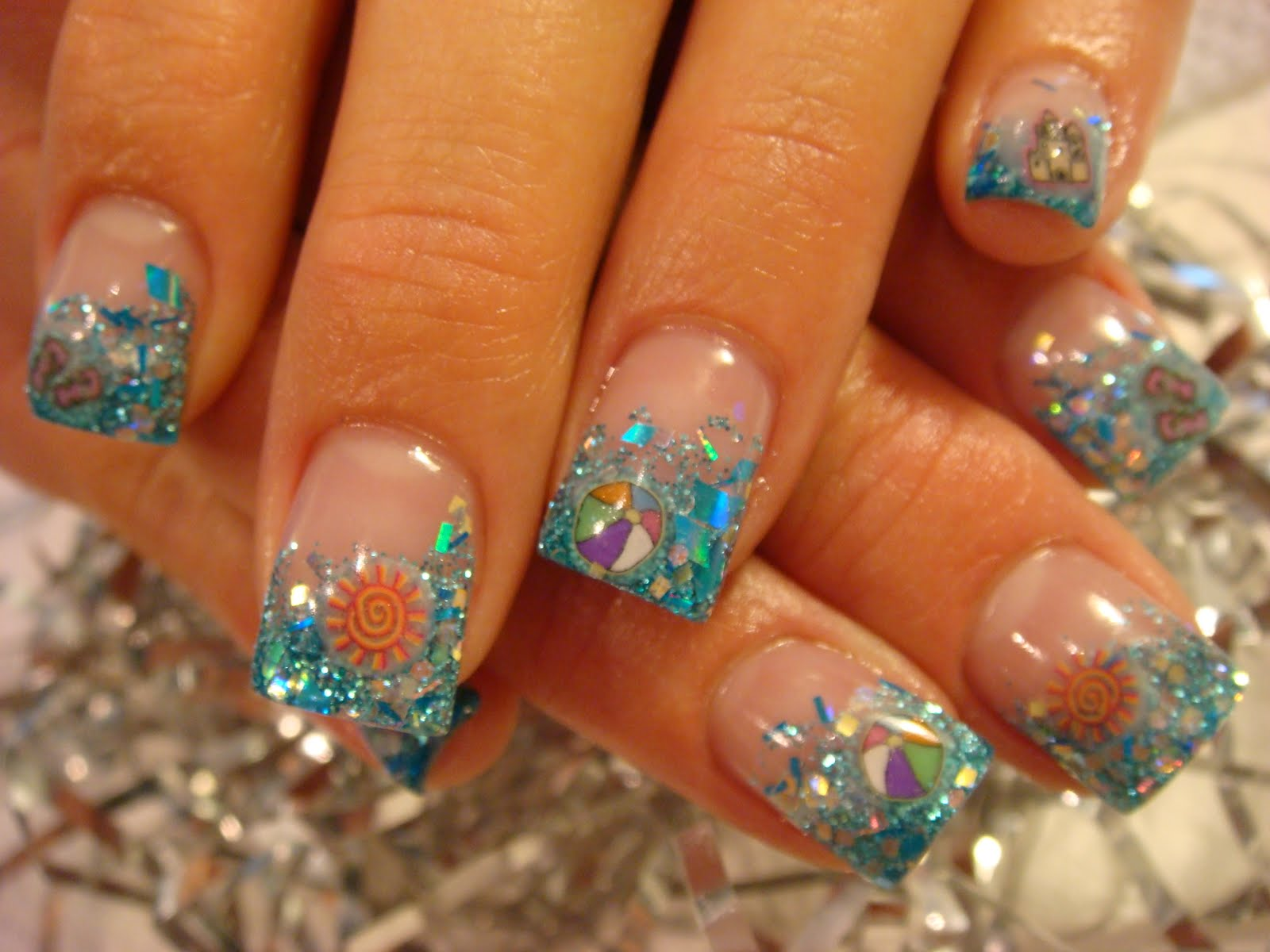 August Amazing Nail Designs Show: Nail Art: August 2011