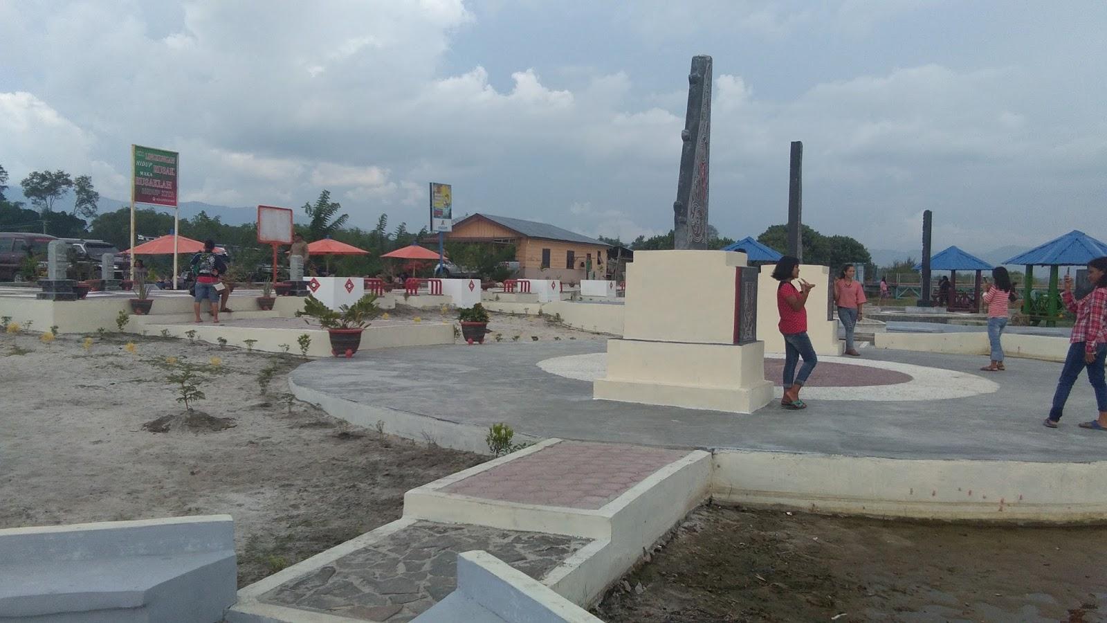 Pantai Pasir Putih Parparean Porsea Berbenah  TOPINFORMASI.COM