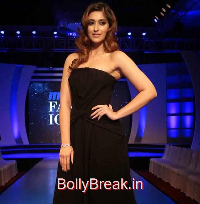 Ileana Unseen Stills, Ileana d'Cruz in Black dress without sleeves at Event