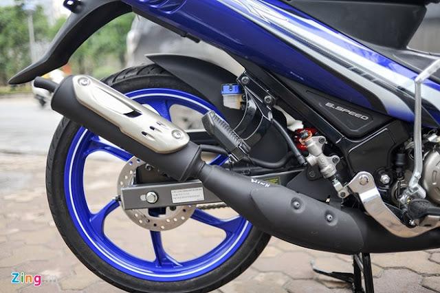 Yamaha Z125 độ cực ngầu tại Sài Gòn 1