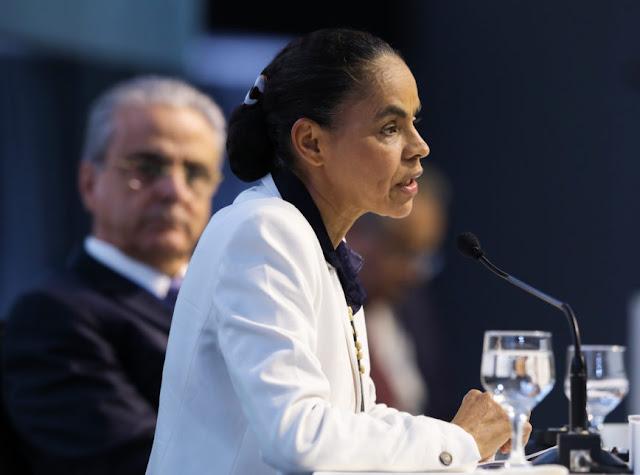 Sabatina de Marina Silva na Confederação Nacional da Indústria (CNI)
