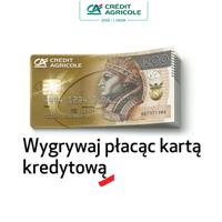 konkurs Credit Agricole - Wygrywaj płacąc kartą kredytową