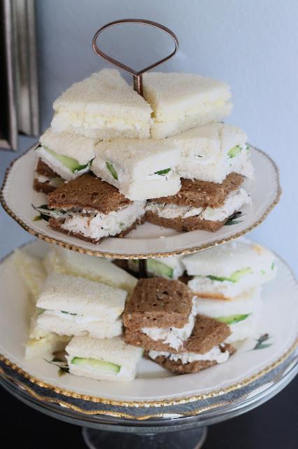 Ladies English Tea Party AK Party Studio Cucumber Sandwiches