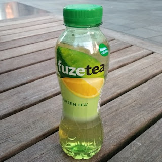 fuze tea green tea lemon pet bottle 400 ml
