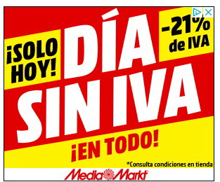 Solo Hoy Día Sin Iva En Mediamarkt Me Gusta Ahorrar