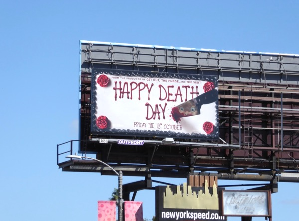 Happy Death Day film billboard