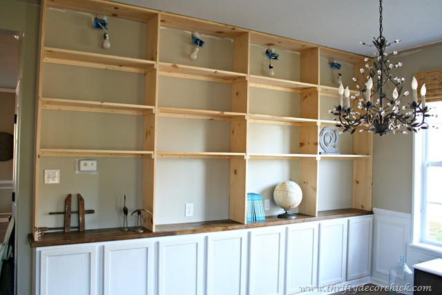 how to build bookcases