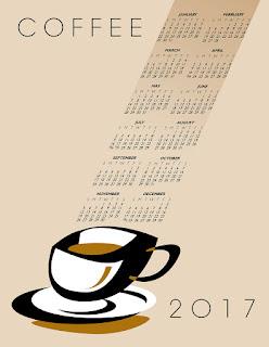 2017カレンダー無料テンプレート62