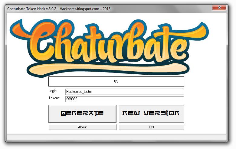 Chaterbate login