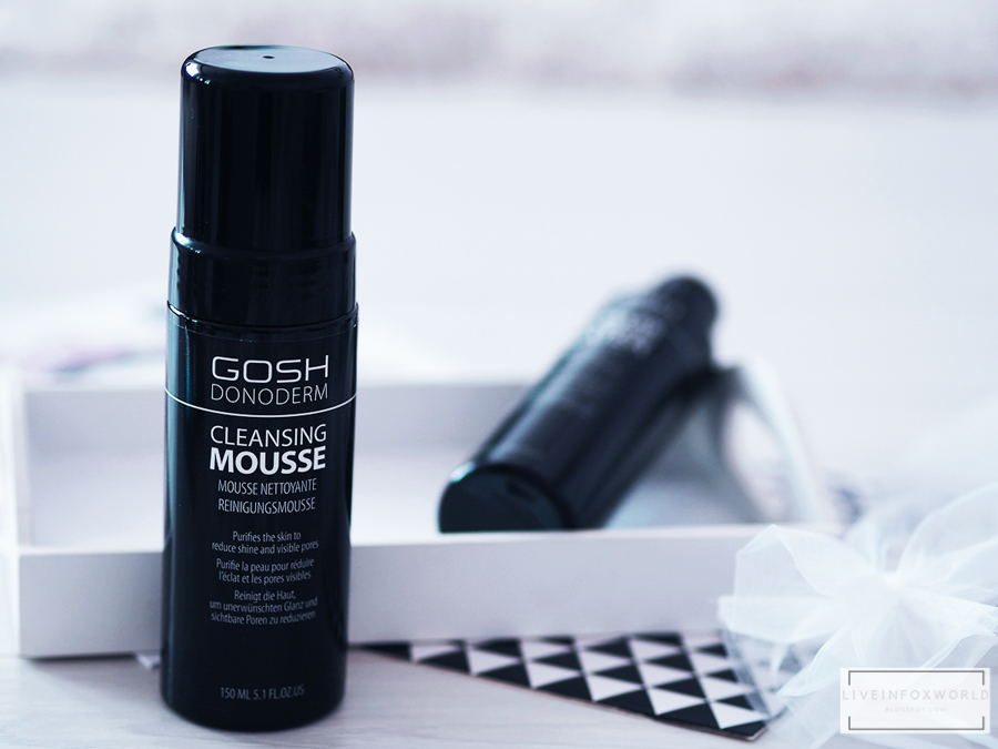 gosh donoderm cleansing mousse