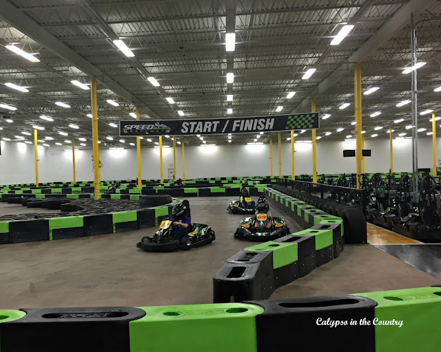 Go Kart Racing - a great rainy day activity
