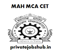 MAH MCA CET