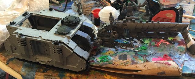 Nid Gun; Battlegaming One; Kannon Kar; Looted Tank; Looted Tyranids