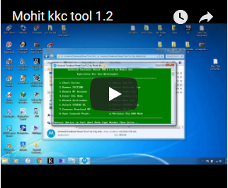 Android Fastboot Reset Tool v1.2 (SPD) by Mohit KKC Full Setup Download