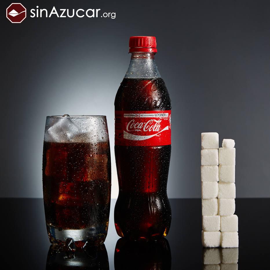 Açúcar presenta na coca cola