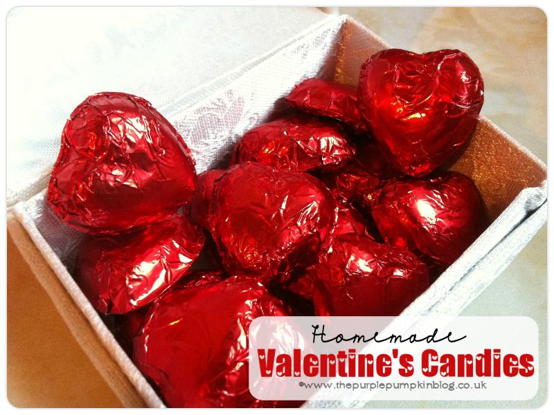 Homemade Valentine's Candies