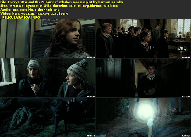 Descargar Harry Potter y el prisionero de Azkaban Latino por MEGA.