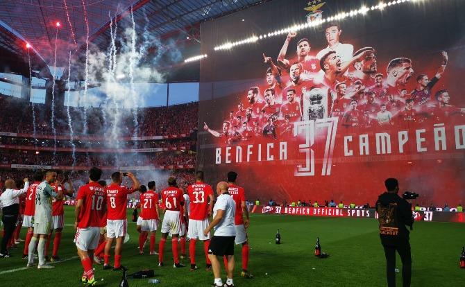 Blogue Benfica O 37 já está a caminho do Cosme Damião