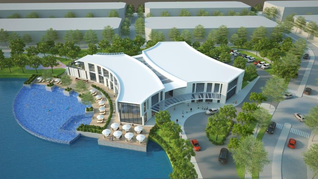 Tiện ích dự án Bách Việt Lake Garden Bắc Giang