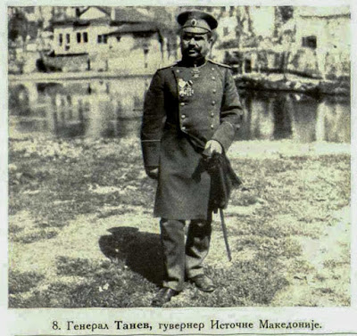 General Tanev, Governor of East Macedonia