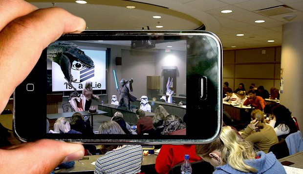 Augmented Reality Simply Explained Students