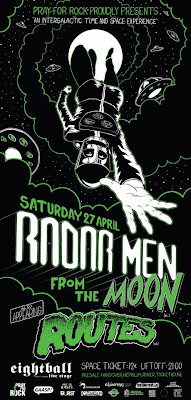 Radar Men From The Moon, Routes, Thessaloniki