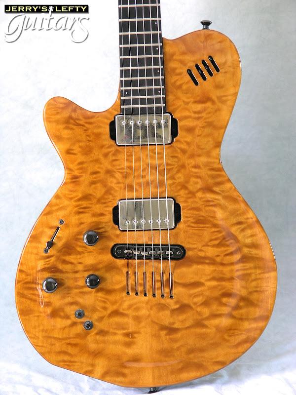 jerry 39 s lefty guitars newest guitar arrivals updated weekly godin lgx sa used left handed. Black Bedroom Furniture Sets. Home Design Ideas