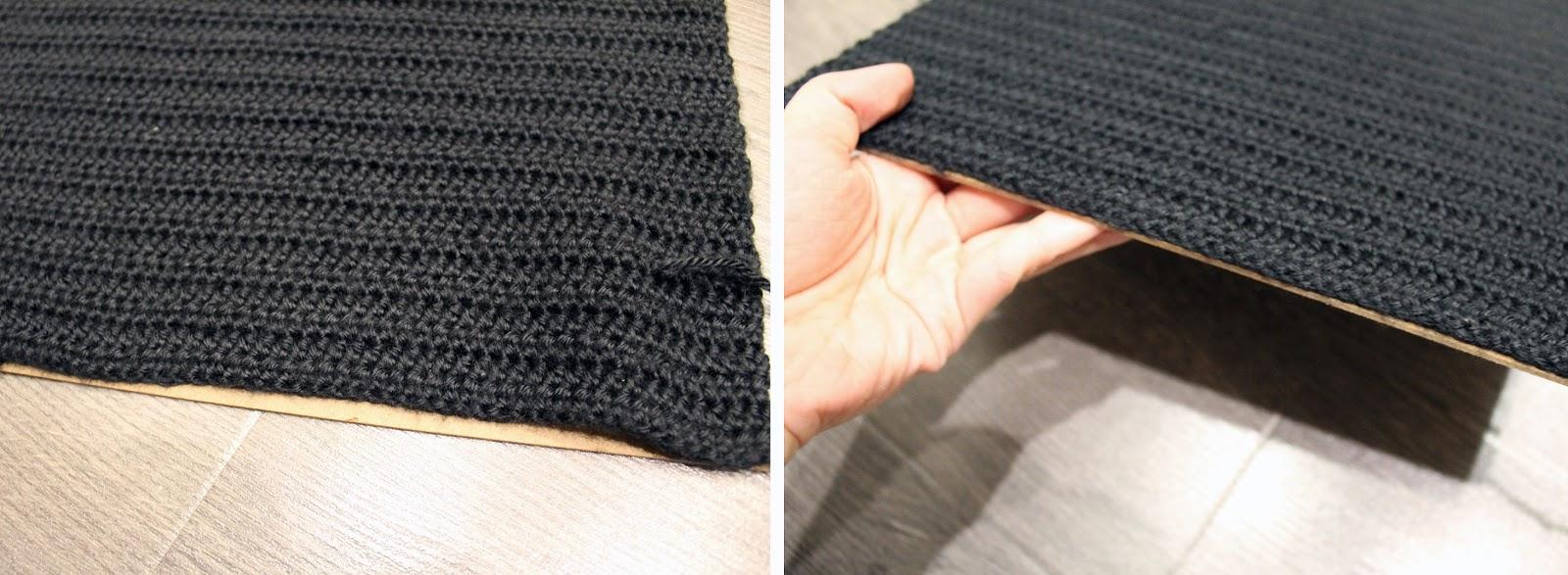 Crochet Letter Board DIY