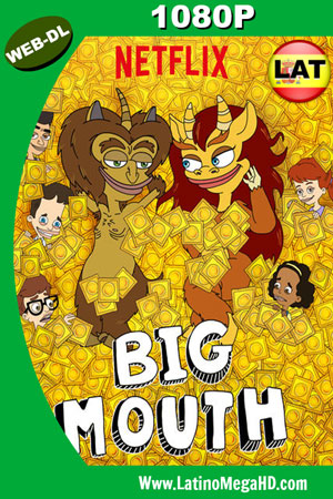 Big Mouth (Serie de TV) (2018) Temporada 2 Latino WEB-DL 1080P ()