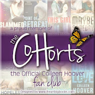 I'm a Co-Hort! Click photo to go to Colleen Hoover's fan club!