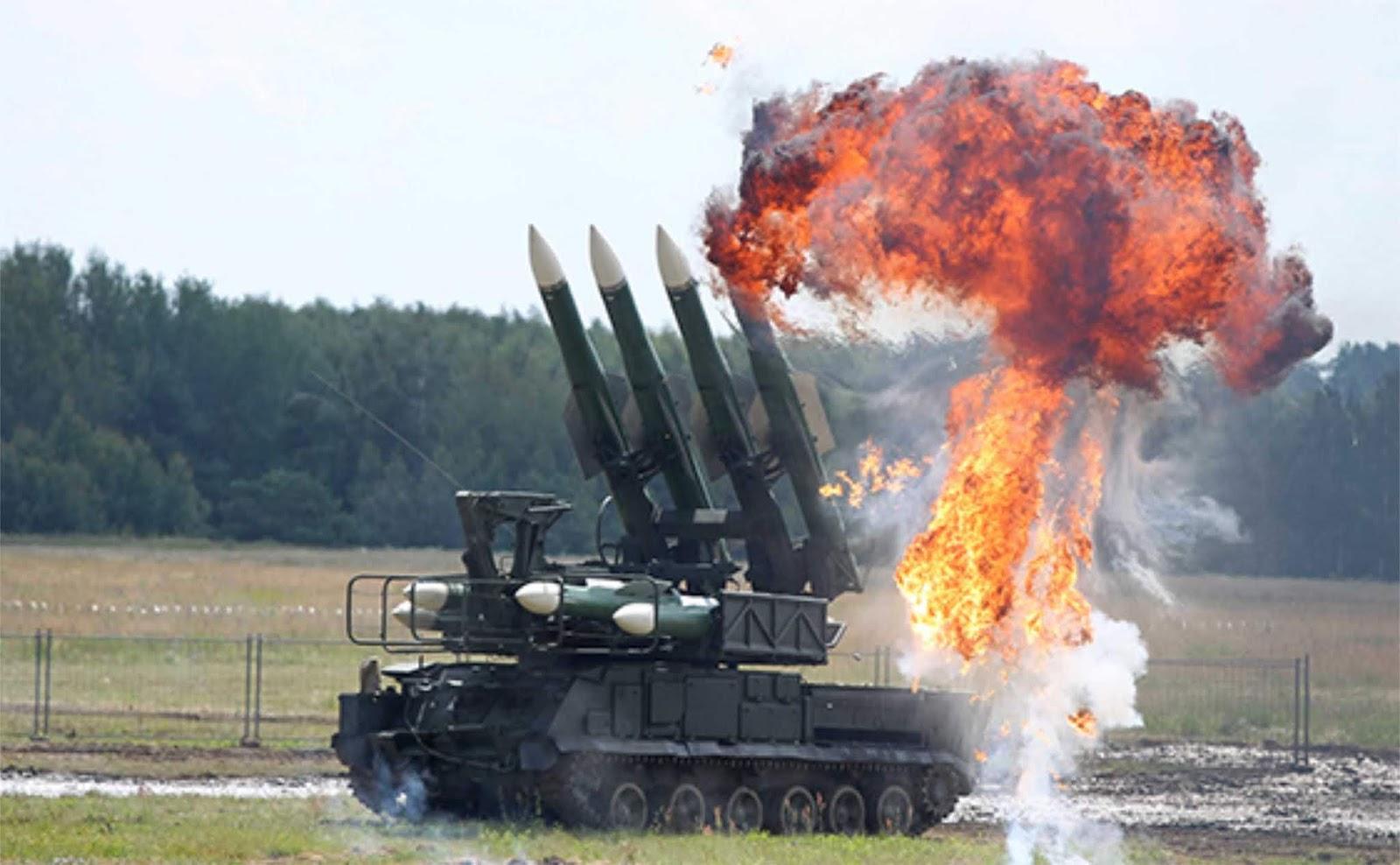#Uji Pertahanan Udara kompleks Buk-M2E Rusia diuji di Venezuela