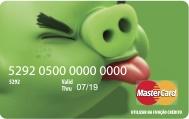 Cartão Angry Birds Acesso Card Porco Verde