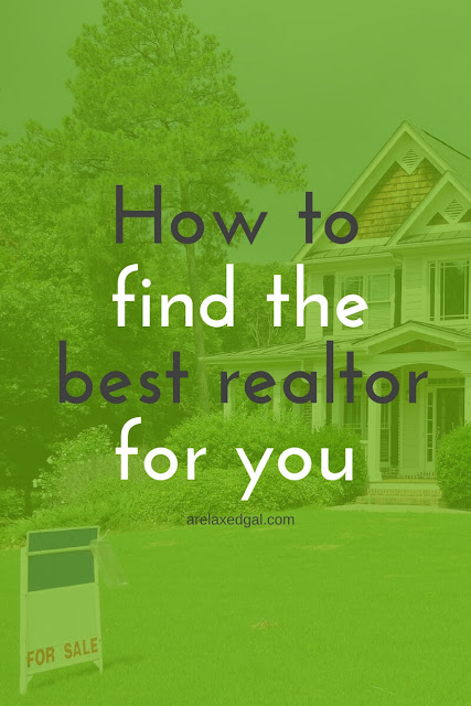 Having a good realtor makes the home buying process a lot easier. Check out these tips for how to select one. | arelaxedgal.com