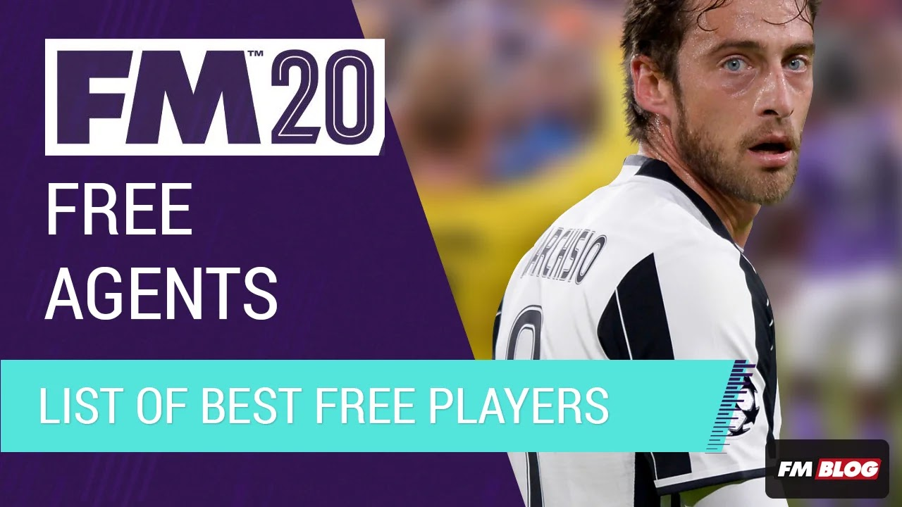 Best Possible Free Agents - FM20