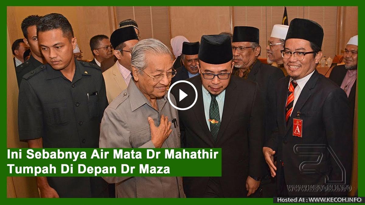 Ini Sebabnya Air Mata Dr Mahathir Tumpah Di Depan Ulama