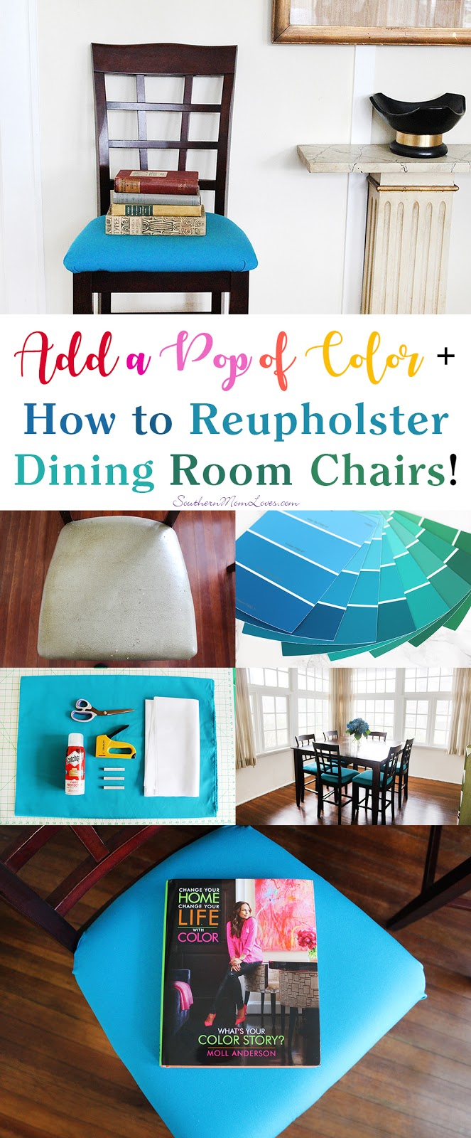 How To Reupholster Dining Room Chairs Youtube