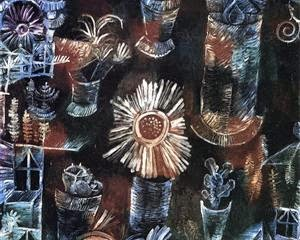 Natureza Morta com Thistle Bloom - Paul Klee - (Expressionismo) Suíço