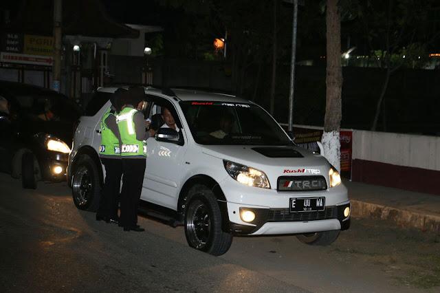 Foto: Razia Gabungan Polres Kebumen dan Kodim 0709 Kebumen
