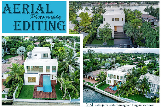 Aerial Photography Editing Services | Real Estate Drone Photo Editing