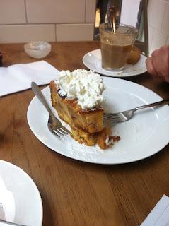 Dutch apple pie in Haarlem.