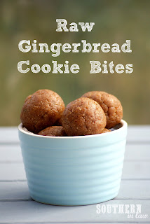 Healthy Raw Gingerbread Cookie Bliss Balls Recipe Gluten Free