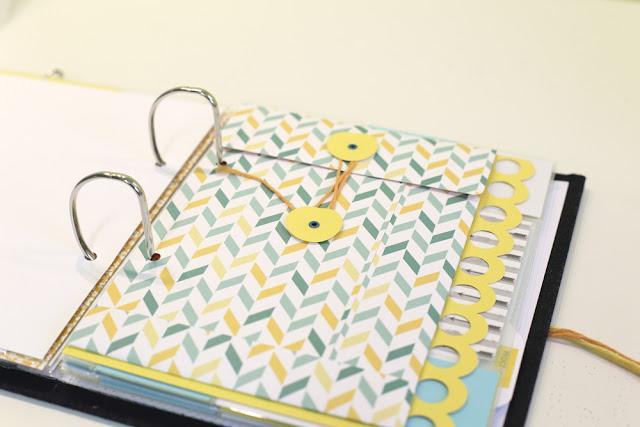 DIY Scrapbooking Umschlag