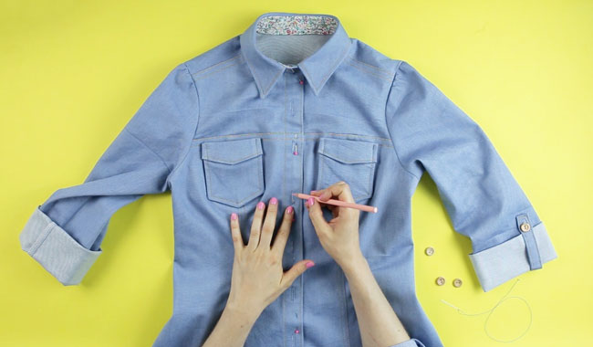 Sew Your Own Shirt or Shirt Dress online workshop