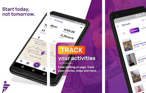FITTAP GPS Lari, Jalan & Diet