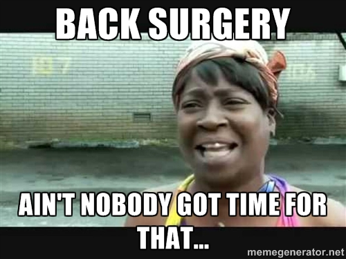 back%2Bsurgery doing harm vs doing wrong the ethics of spinal surgery evidence