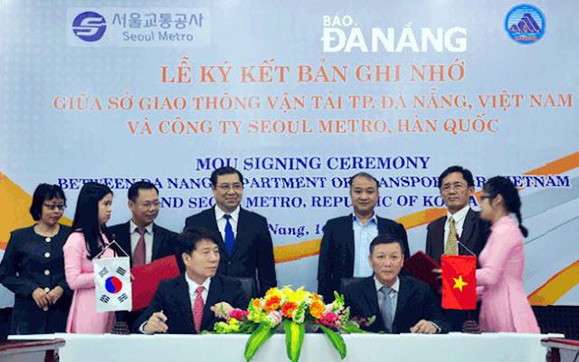 Hợp tác giữa Hàn Quốc và Đà Nẵng
